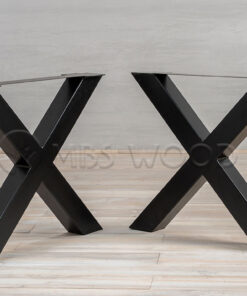 Metal Legs X-Shape (Metal Planks)