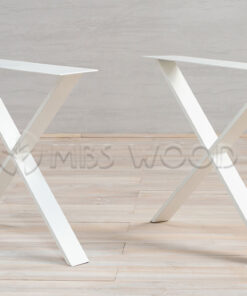 Metal Legs (White) X-Shape